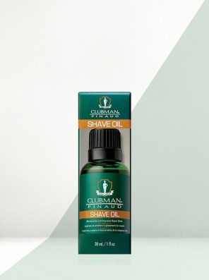 CLUBMAN PINAUD SHAVE OIL 30ML